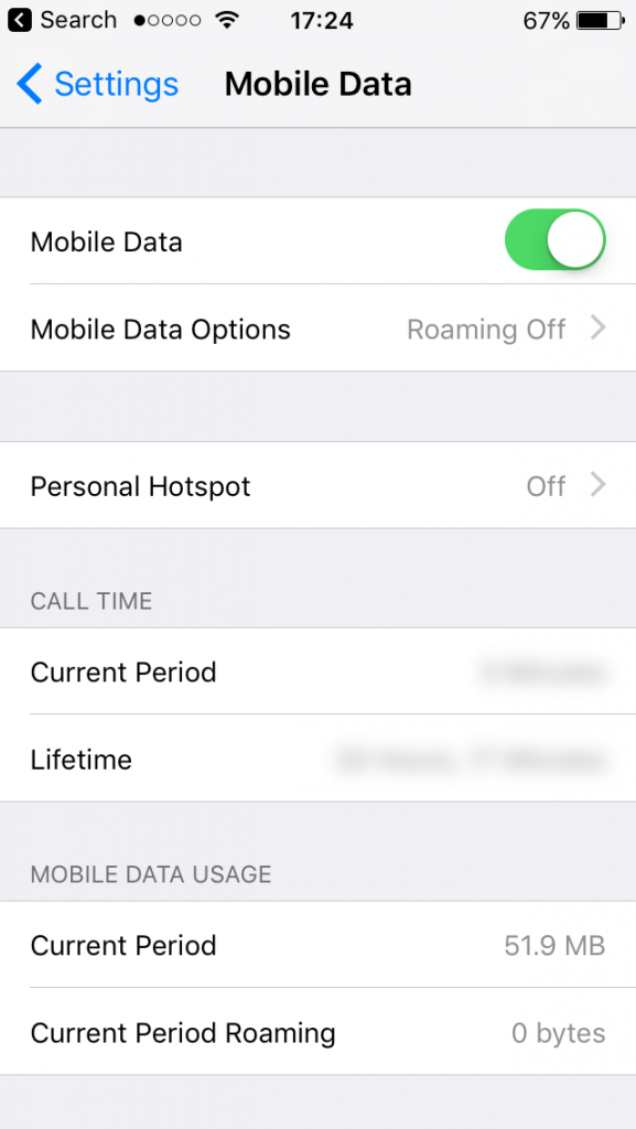 How to enable Personal Hotspot when no option