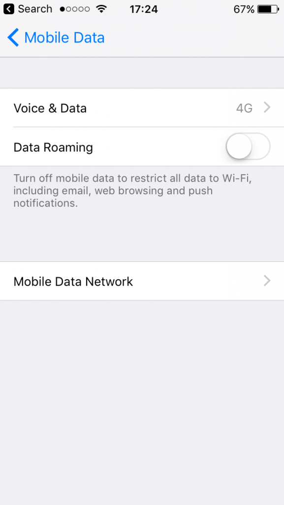 turn on personal hotspot on iPhone