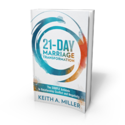 21 day marriage counselling book - Keith Miller